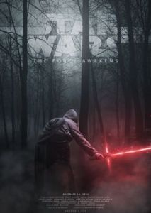 a star wars movie poster