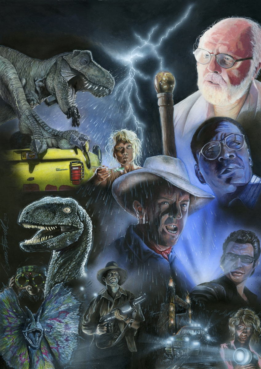 an analysis of the characters in michael crichtons novel jurassic park the lost world But not just for his numerous world records or medals michael  the novel spies by michael  jurassic park jurassic park crichton, michael.